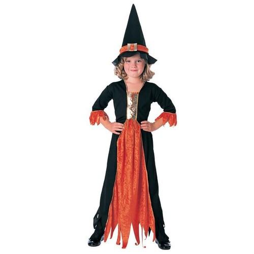 Cadı Klasik Çocuk Kostüm 8-10 Yaş