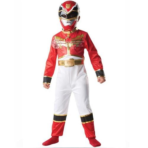 Power Rangers Red Ranger Klasik Çocuk Kostümü 5-6 Yaş