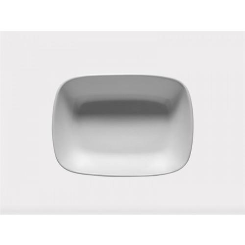 İkram Dünyası Porselen Kare Kayık Tabak 14 cm 1 adet