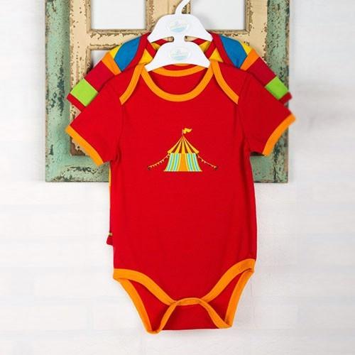 Wonder Kids WK14S434 Carnaval 2li Bebek Body Çizgili