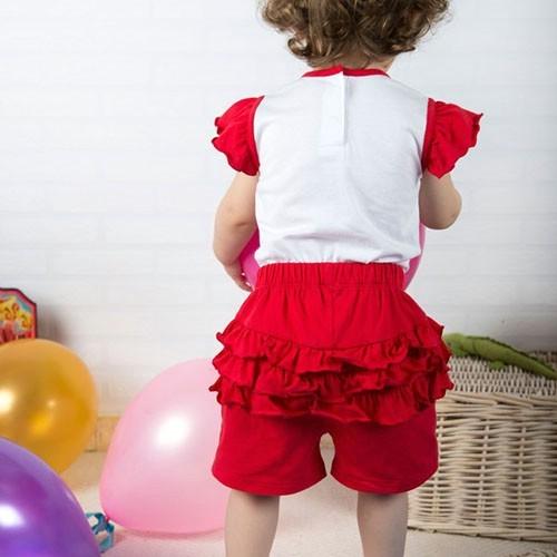 Wonder Kids Fırfırlı Bebek Takım 2li Carnaval