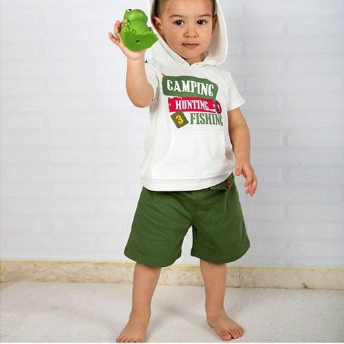 Wonder Kids Bebek Yazlık Takım 2li - Camp