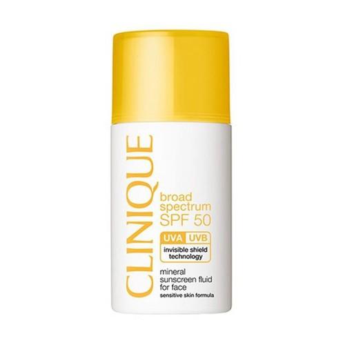 Clinique Mineral Sunscreen Fluid For Face Spf50 30 Ml-Güneş Kremi