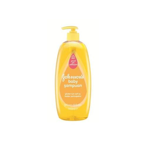 Johnsons Baby Şampuan 500 Ml - Göz Yakmayan Bebek Şampuanı