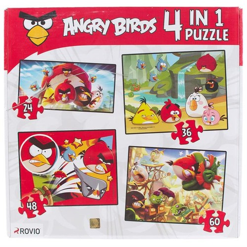 "Angry Birds 4""lü Puzzle"