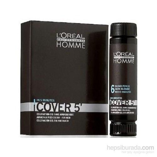 Loreal Paris Homme Cover 5 Jel Saç Boyası 3X50Ml No 3-Koyu Kestane (Koyu Kahve)