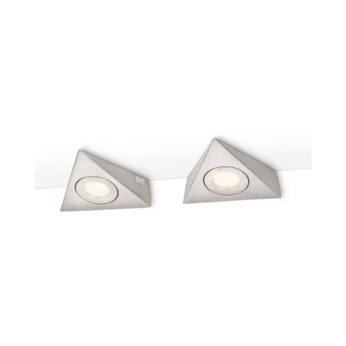 Philips Etoile Under Cabinet Nickel 2X20W 12V