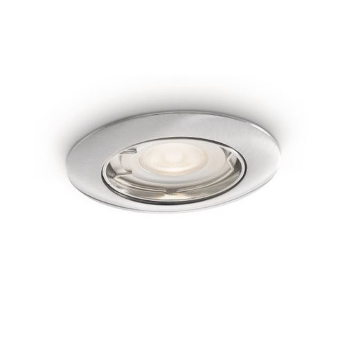 Philips Nash Recessed Led Nickel 1X50W 230V