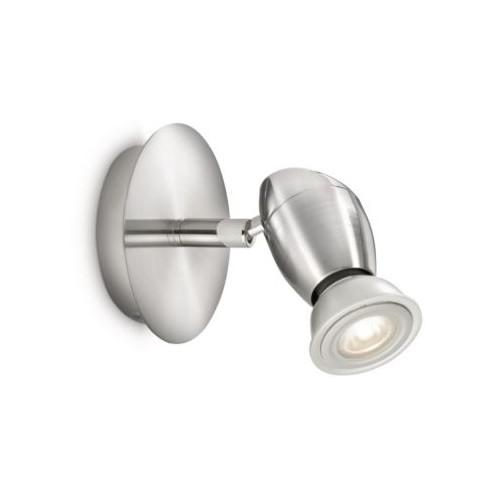 Philips Chestnut Single Spot Led Nickel 1X50W
