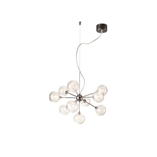 Philips Barbarossa Pendant Chrome 10X10W 12V