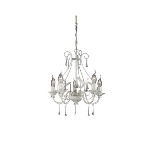 Philips Madıson Chandelier White 5X60W 230V