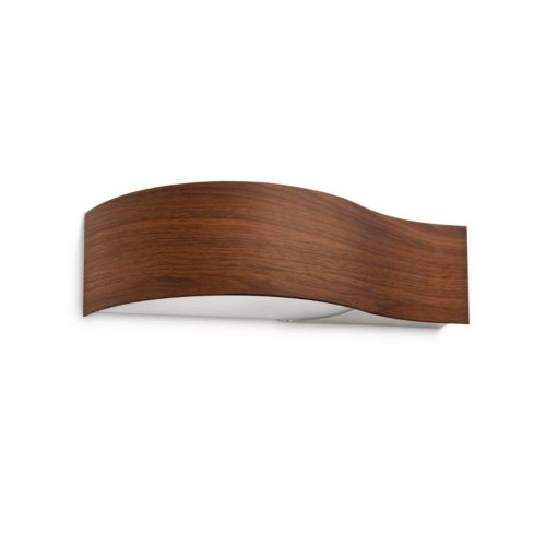 Philips Lakeport Wall Lamp Beech 1X12W 230V