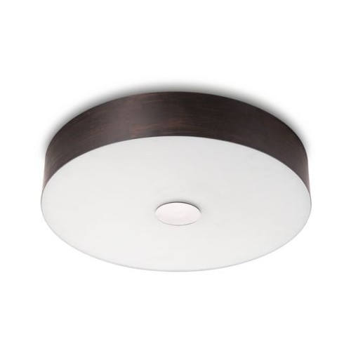 Philips 31137 Ceiling Lamp Led Brownbrush 49W