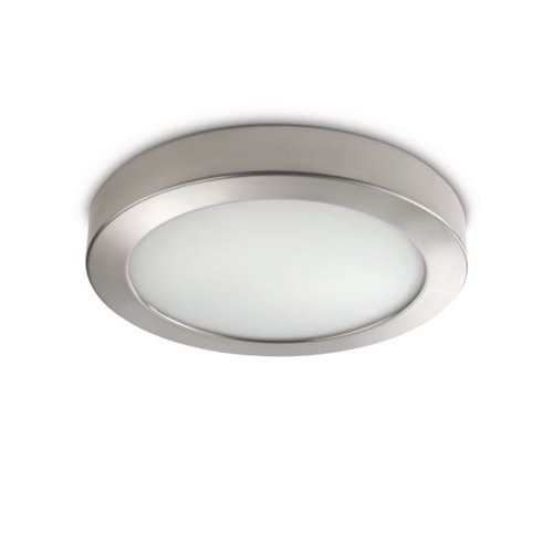 Philips Octagon Ceiling Lamp Nickel 2X12W 230V