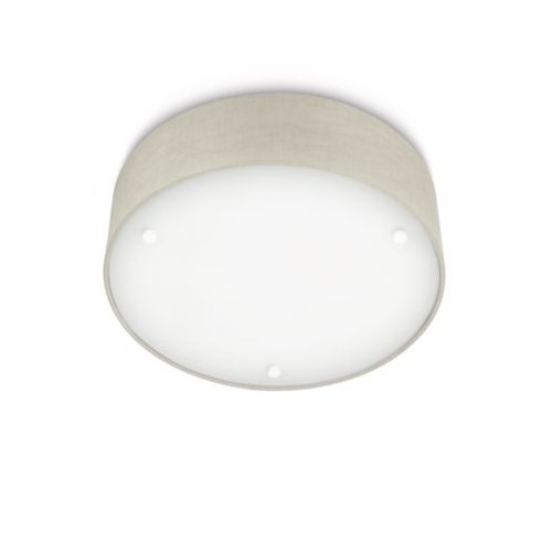 Philips Velour Ceiling Lamp Grey 2X23W 230V