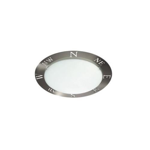 Philips Compass Ceiling Lamp Nickel 1X60W 230V