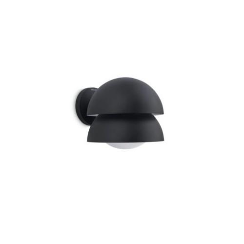 Philips Kelapa Wall Lantern Black 1X20W 230V
