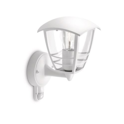 Philips Creek Wall Lantern White 1X60W 230V