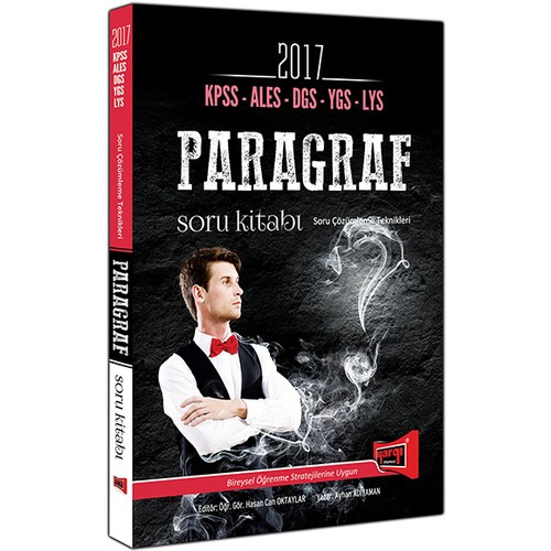 Yargı Yayınları Kpss Ales Dgs Ygs Lys 2017 Paragraf Soru Bankası
