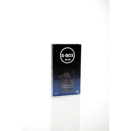 Sbox Blue Klasik 12'Li İthal Prezervatif