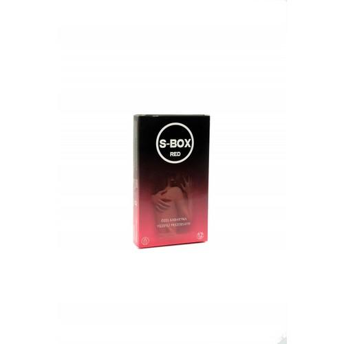 Sbox Dotted Tırtıklı 12'Li Prezervatif