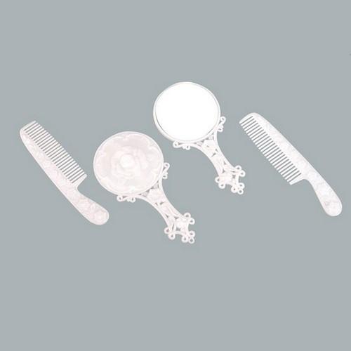 Tahtakale Toptancısı Ayna &Amp; Tarak Seti Beyaz (10 Adet)