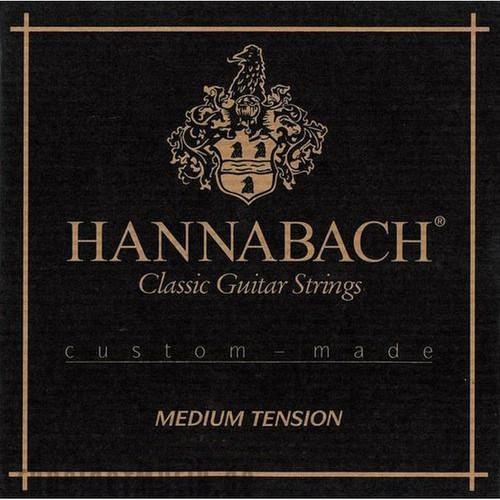 Hannabach Klasik Gitar Teli 7287 Mt Bas Set (Sadece Bas Teller Mevcuttur)
