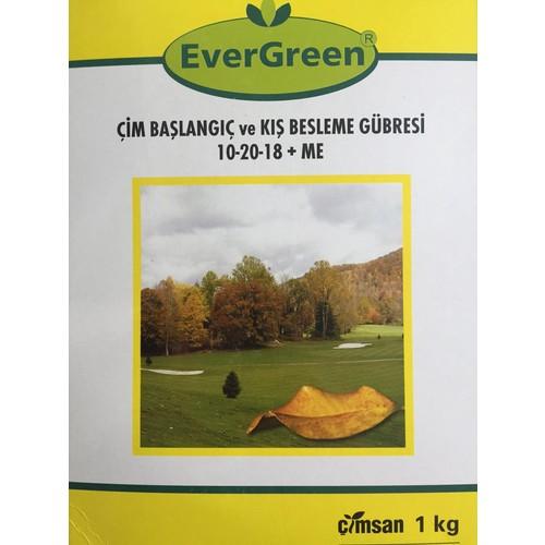 Evergreen Çim Başlangıç ve Kışlık Bakım Gübresi 1 kg