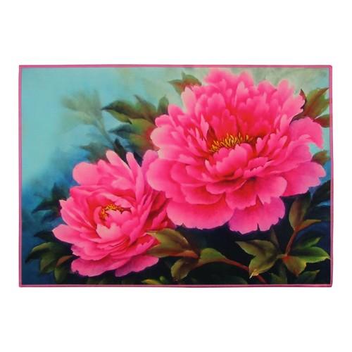 Gravel Floral Amerikan Servisi - Pembe