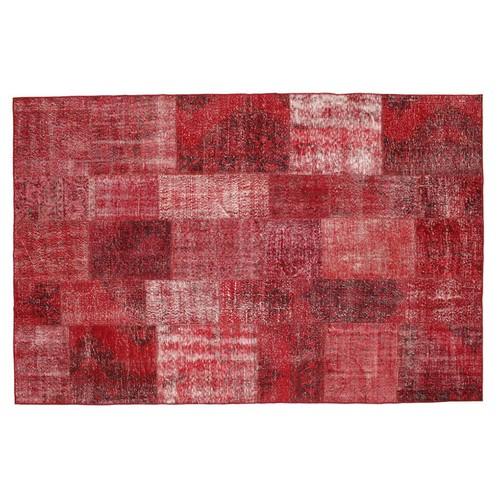 MarkaEv Patchwork Halı Kırmızı - 160x230 cm
