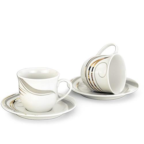 Schafer 12 Parça Rolinda Porselen Çay Fincanı SHF-10040