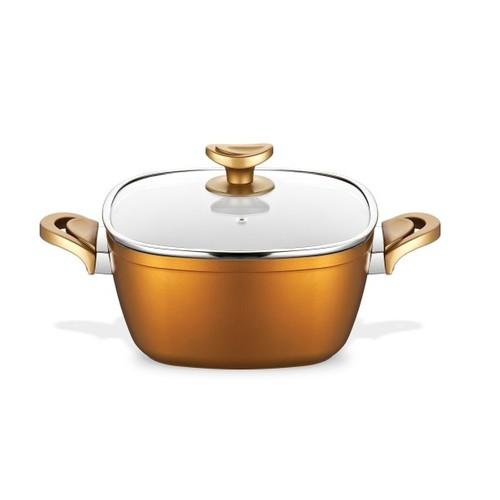 Schafer Gastronomie Derin Tencere 24 Cm Hardal