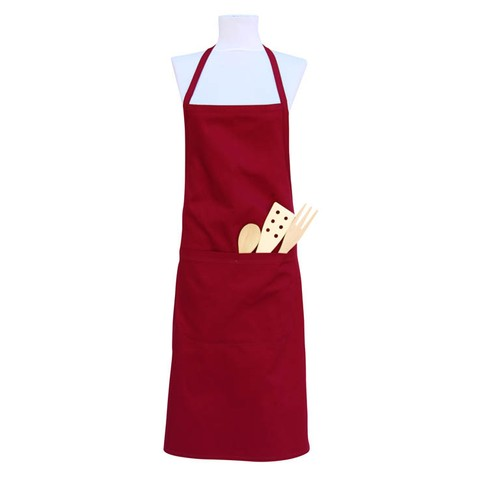 Gravel Mutfak Önlüğü - Bordo