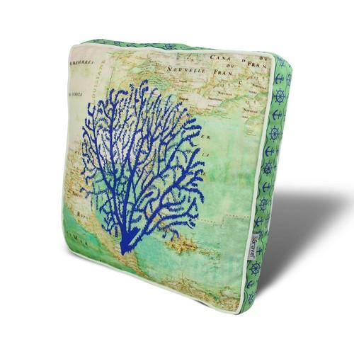 Gravel Ağaç Temalı Çok Amaçlı Yastık - Minder