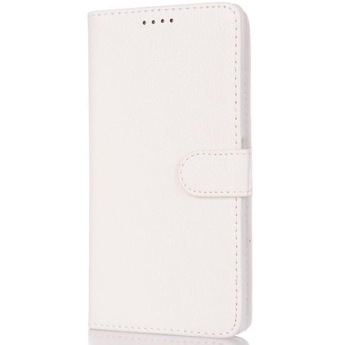 CoverZone Nokia X Kılıf Cüzdan Yan Kapaklı Beyaz