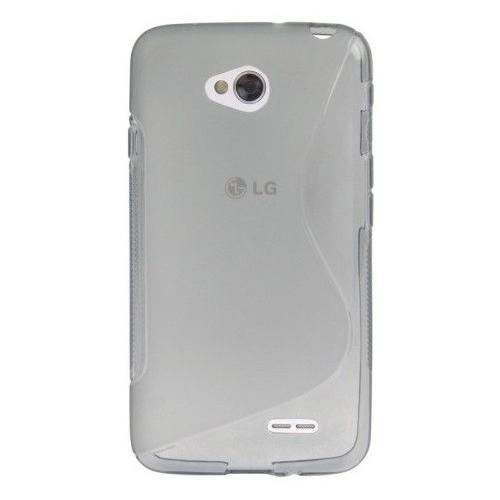 CoverZone LG L70 Kılıf Silikon S-Line Şeffaf