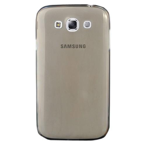 CoverZone Samsung Galaxy E5 Kılıf 0.3mm İnce Silikon Antrasit