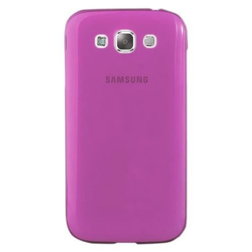 CoverZone Samsung Galaxy E5 Kılıf 0.3mm İnce Silikon Pembe