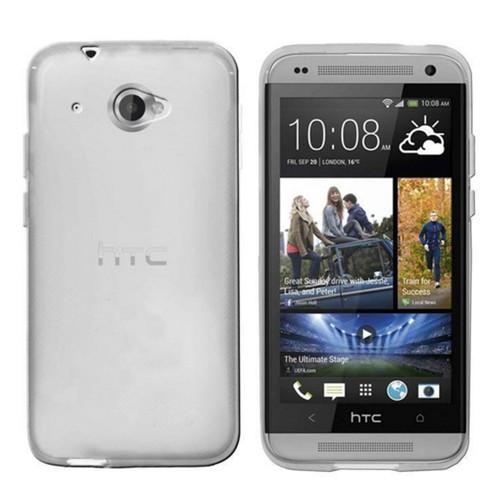 CoverZone HTC Desire 601 Kılıf Silikon Flexible Şeffaf