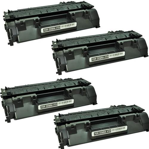 Neon Hp Laserjet Pro P2055Dn Toner 4'lü Ekonomik Paket Muadil Yazıcı Kartuş