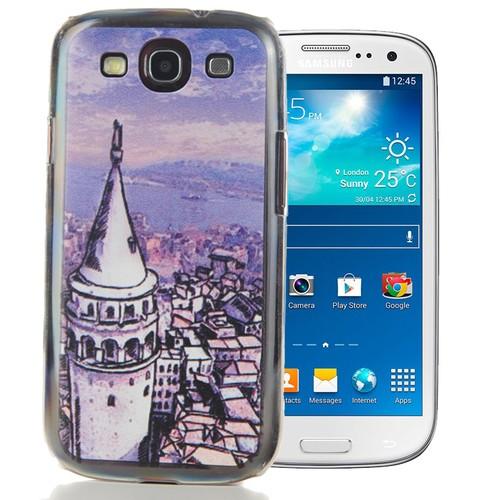 CoverZone Samsung Galaxy S3 Kılıf Resimli Arka Kapak No: 35