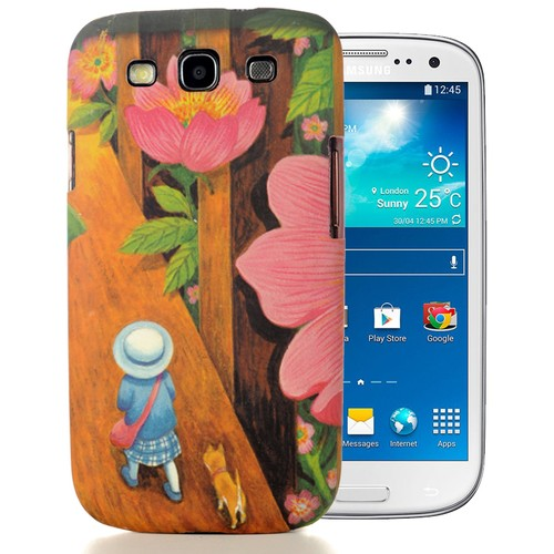 CoverZone Samsung Galaxy S3 Kılıf Resimli Arka Kapak No: 4