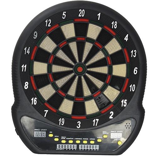 Spor724 ED400 Elektronik Dart Tahtası-27 Oyunlu LED Göstergeli