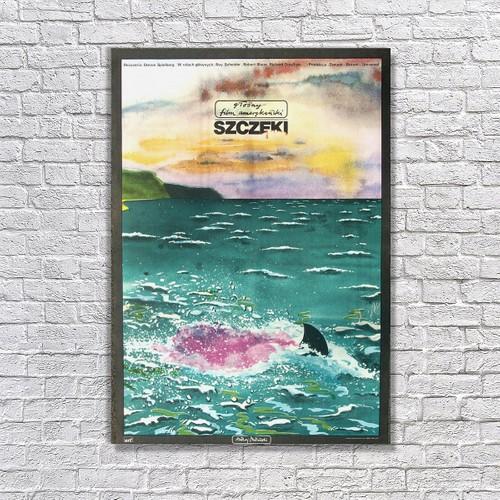 Albitablo Poster Love Jaws Kanvas Tablo