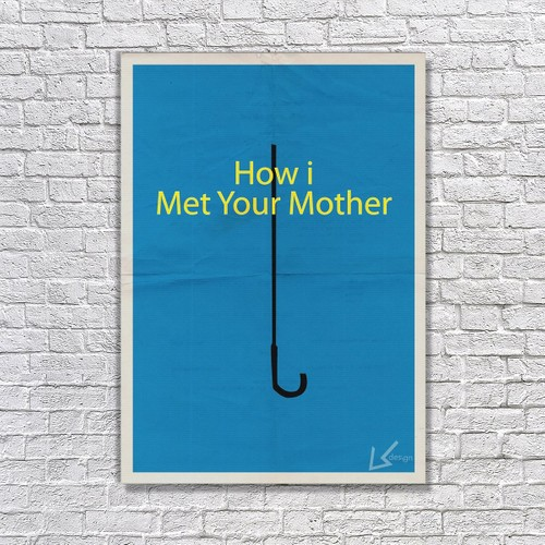 Albitablo Poster Love How I Met Your Mother Kanvas Tablo