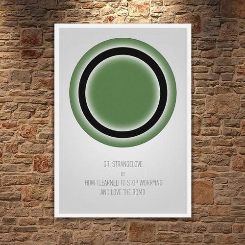 Albitablo Poster Love Dr Strangelove Kanvas Tablo