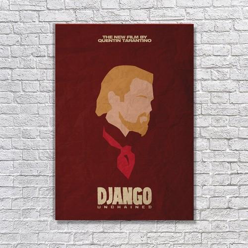 Albitablo Poster Love Django Unchained 2 Kanvas Tablo