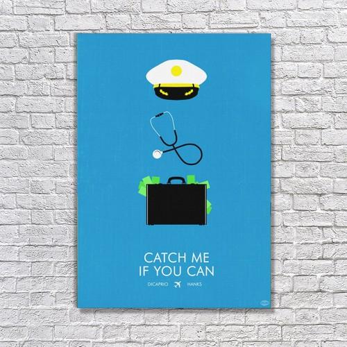 Albitablo Poster Love Catch Me If You Can Kanvas Tablo