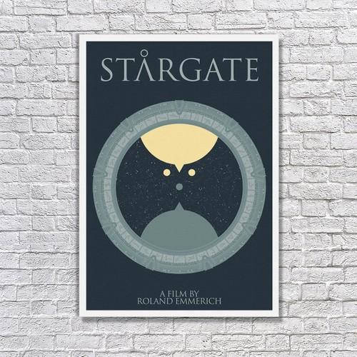 Albitablo Poster Love Stargate Kanvas Tablo