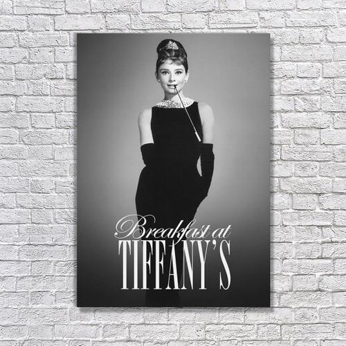 Albitablo Poster Love Breakfast At Tiffanys 4 Kanvas Tablo